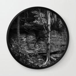 USA Kentucky in Black & White #1 Wall Clock
