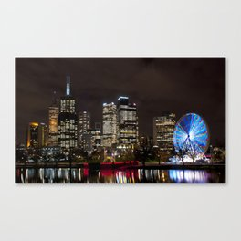 Along  The Yarra River Canvas Print