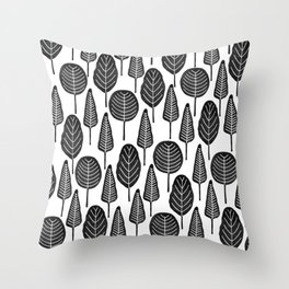 Forest Musings Throw Pillow