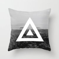 neverland Throw Pillows featuring Neverland by Canoe Point Designs