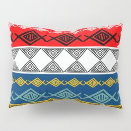 Colorful Tribal Pillow Sham