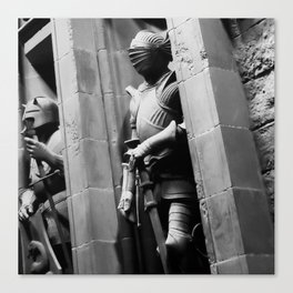 Suits of Armour Canvas Print