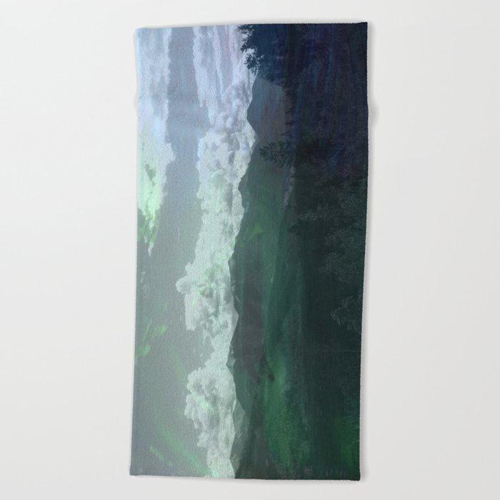 Moody Wanderer Beach Towel