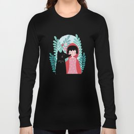 Red Riding Hood and the Wolf Long Sleeve T-shirt