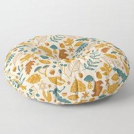 Autumn Foliage Floor Pillow