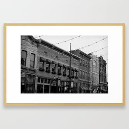 Larimer Street Framed Art Print