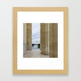 Washington DC Framed Art Print