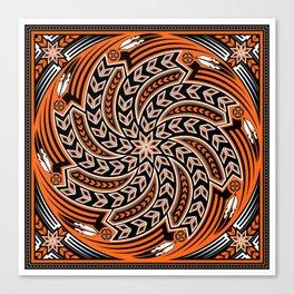 Wind Spirit (Orange) Canvas Print