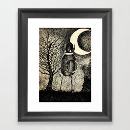 The Runaway Framed Art Print