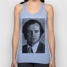 Jack Nicholson Portrait Unisex Tank Top