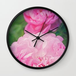 The World Smelled of Roses Wall Clock