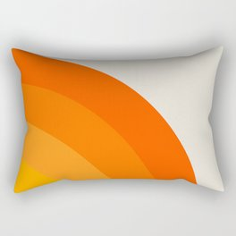 Sunrise Rainbow - Right Side Rectangular Pillow