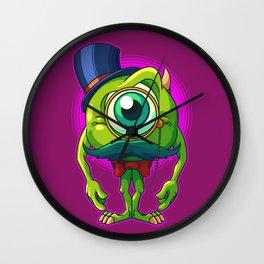 Debonair Mike Wall Clock