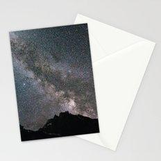 Night in Switzerland Stationery Cards