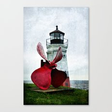 Lighting the way Canvas Print