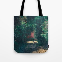 hidden in flowers Tote Bag
