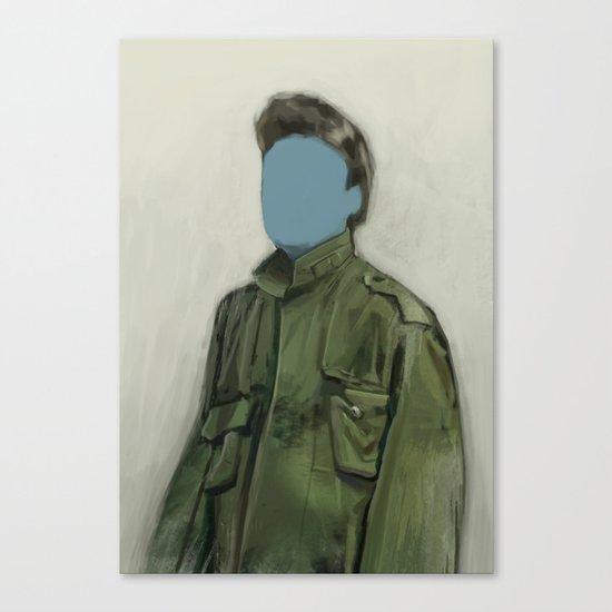 major blue Canvas Print