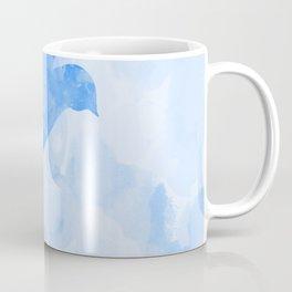 Abstract Flying Dove II Coffee Mug
