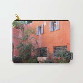 Trasvtevere Courtyard Carry-All Pouch