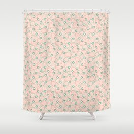 formica boogie Shower Curtain