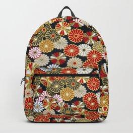 Golden Chrysanthemums Backpack