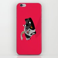 delorean iPhone & iPod Skins featuring Delorean (The 2015 Collection) by Cal Chan