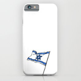 Israeli Flag iPhone Case