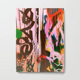 Graff Art Metal Print