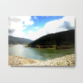 Thompson's Dam Metal Print