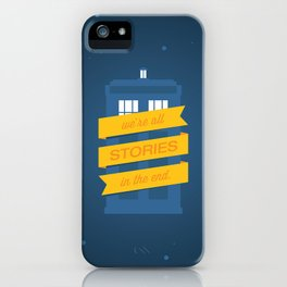 Stories iPhone Case