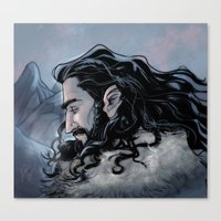 thorin Canvas Prints featuring Thorin by Ammo