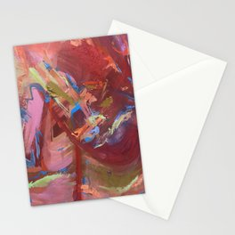 Abstract Painting closeup Stationery Cards