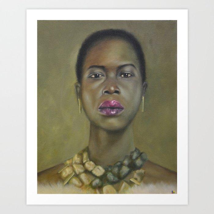 Proud Beauty Art Print