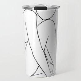 line art 1 Travel Mug