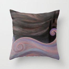PALE SEA Throw Pillow