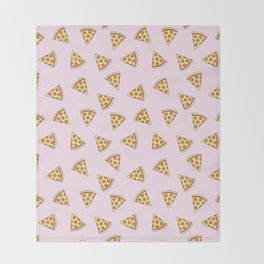 Pizza is Life Throw Blanket