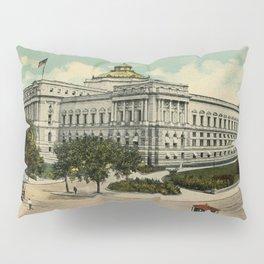 Library of Congress Washington DC 1900s Pillow Sham