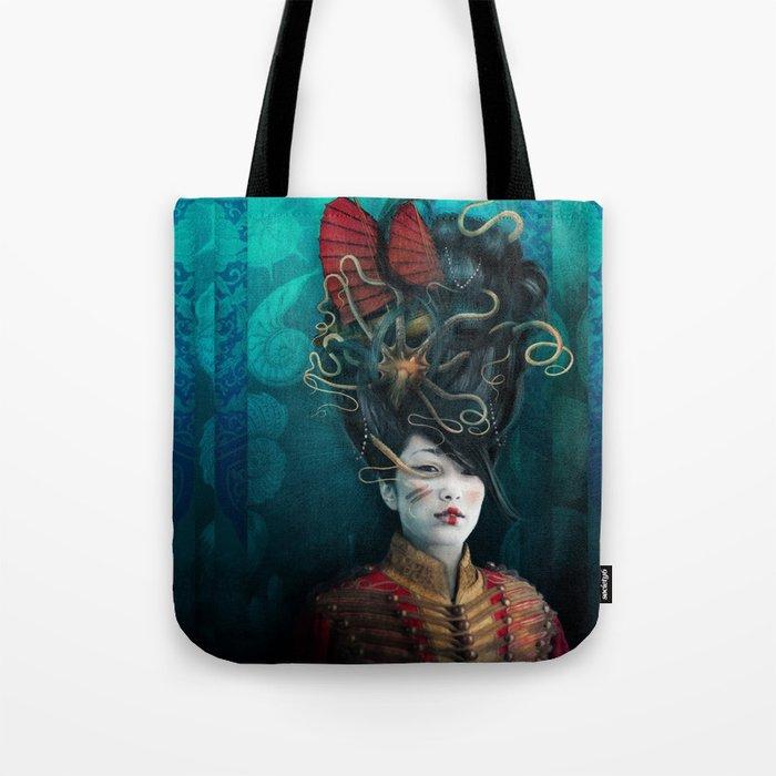Queen of the Wild Frontier Tote Bag