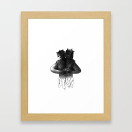 Siamese[lect] Framed Art Print