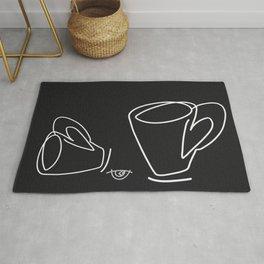Cuppa Candor [Noir] Rug