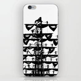 Mexican Navy's training vessel ARM Cuauhtémoc goes to Gdynia port iPhone Skin