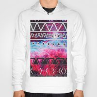 aztec Hoodies featuring AZTEC by UDIN