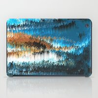 chihiro iPad Cases featuring Blue Forest Shades by Alix Rumble