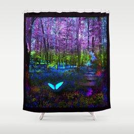 Return to Wonderland Shower Curtain