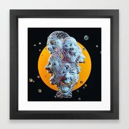 SAMPLED Framed Art Print