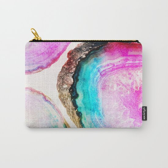 Agate Pattern #society6 #decor #buyart Carry-All Pouch