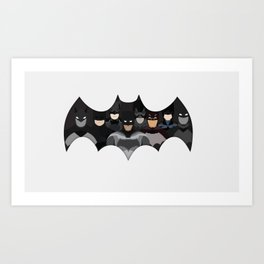 Who is the Bat? Art Print