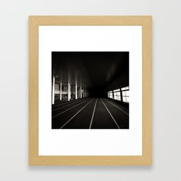 Unknown future for explore Framed Art Print