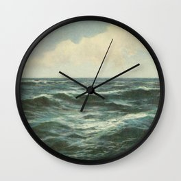 Sea And Sky Wall Clock