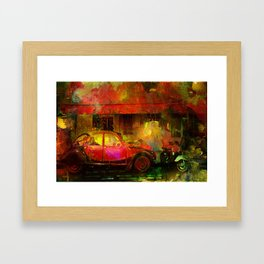 The street bistrot Framed Art Print